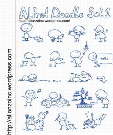 Alfred_Doodle_Set1