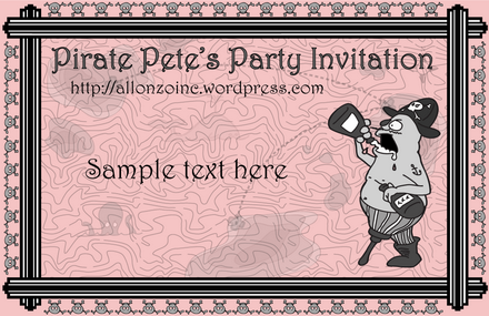 Pirate Pete's Party Invitation2-1