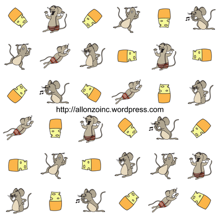 Mouse Seamless Background 1