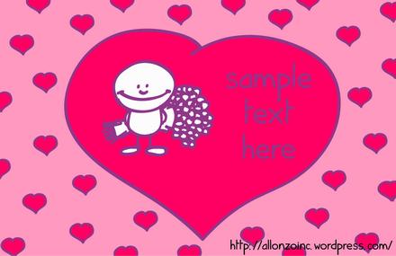Romantic Doodle Card 1
