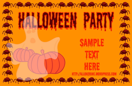 Halloween Doodle Card 2