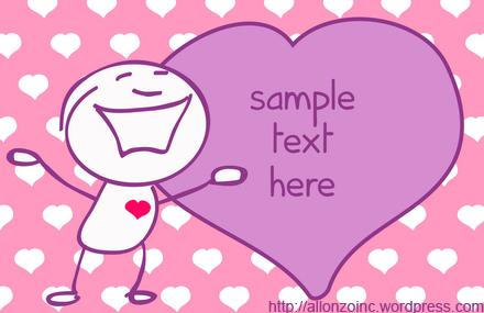 Romantic Doodle Card 2