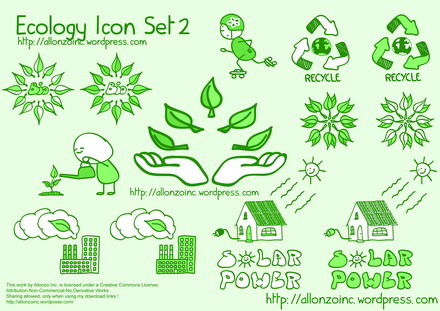 Vector Ecology Icon Set 2 by Allonzo Inc