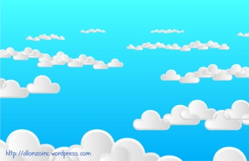 Cloudy Background 2