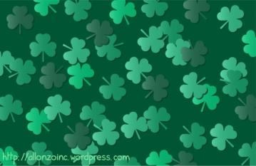 Vector St Patricks Day Background