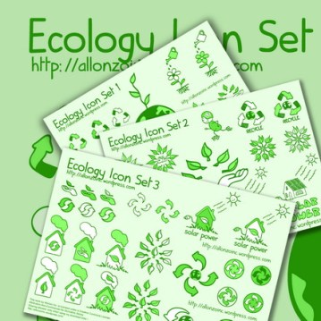 Ecology Icon Collection Pack