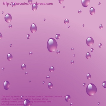Vector - Raindrops on the window by Allonzo Inc2