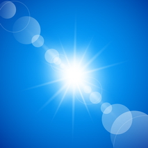 Vector -  Abstract Sunny Blue Sky Background by Allonzo Inc Designs-03